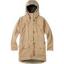 Wome's Burton Soteil Soft Shell Full Zip Hoodie Jacket Kelp Heather Size Small S