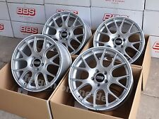 BBS CH-R Silber Felgen 8,5x18 Zoll CH139 für VW Golf 5 + 6 + 7 auch GTI + R