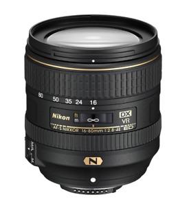 [NEAR MINT] Nikon AF-S 16-80mm f 2.8-4E Nikkor DX ED VR Wide Zoom Lens (N081)