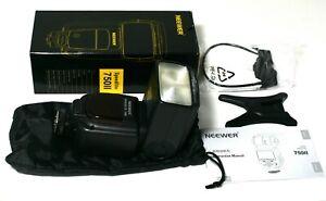 Neewer 750II TTL Speedlite Flash for Nikon DSLR Cameras (box opened for testing)