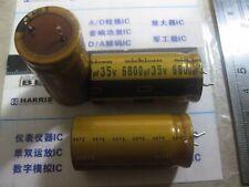 1X 6800UF35V FW (M) Nichicon  AUDIO GRADE ELECTROLYTIC CAPACITOR