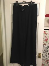 George Black Trousers Size 12/40