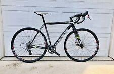 Cannondale Carbon Hi-Mod SuperX Cyclocross 52cm Disc Bike + Extra Zipp Wheelset