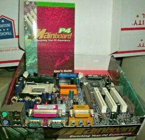 ECS P4VXMS - motherboard - micro ATX - Socket 423 - P4X266   P4VXMS-R Main Board