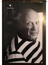 Pablo Picasso Apple Think Different Educational 11x17 Poster