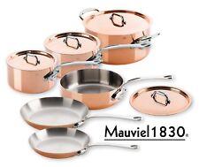 Mauviel M'150s Kupfer & Edelstahl Topf-Set 10-teilig Edelstahlgriffe