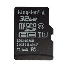 32GB Kingston MicroSD SDHC TF C10 Memory Card Memoria f Phone Tablet