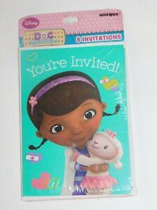 Doc McStuffins Birthday Party Invitations Disney