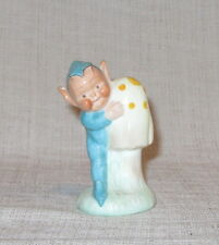 Vintage Shelley Mabel Lucie Attwell Boo Boo Pixie with Mushroom LA23 Figurine