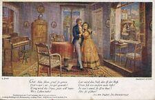 """AK, Grafik, """"Das Dreimäderlhaus"""" - Bühnenstück, 1917; 5026-39"""