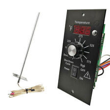 Upgrade Digital Thermostat Controller Board W/ Meat Probes For All TRAEGER BAC23