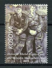 Kosovo 2018 MNH Heroes Commanders Toni & Mici 1v Set Military War Stamps