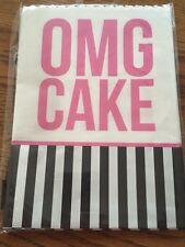 OMG CAKE Party Bags. 8 Bags, Loot Bags.