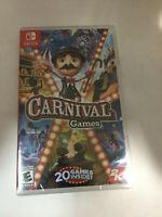 Carnival Games (Nintendo Switch) 2K  Brand New , Sealed