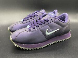 Womens Vintage 2001 Nike Cortez Jewel Purple/Blue size 8.5 103181-541 VERY RARE!