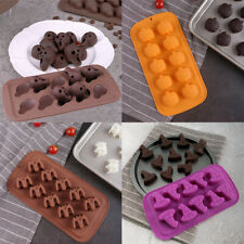 Silicone Halloween Ghost Chocolate Mould Candy Cookies Ice Cube Tray Jelly Mold