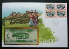 Mauritius Protection Of The Environment 2000 Mountain FDC (banknote cover) *rare