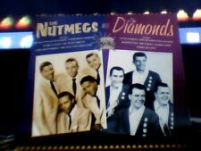 the nutmegs &the diamonds very best of 30 hits nr mint little darlin silhouettes