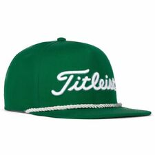 Titleist Golf 2020 Shamrock Tour Rope Flat Bill Limited Edition Hat/Cap - Green