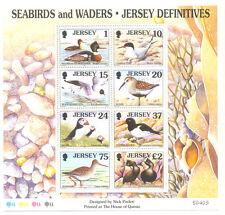 JERSEY uccelli marini & trampolieri min SHEET MNH