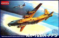 ANTONOV AN 12 BK-PPS CUB - RUSSIAN ECM AIRCRAFT (SOVIET AF MARKINGS) 1/72 RODEN