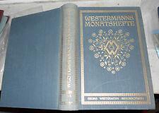 Westermanns Monatshefte, 69. Jahrgang, 138. Band, 1925, Oln. gebunden