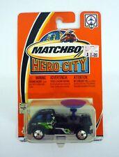 Matchbox Clima Radar Camión hero-city Colección Die-cast MOC COMPLETO 2002