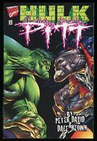 Hulk Pitt Trade Paperback TPB Peter David Dale Keown art vs 1st Bagged & Boarded