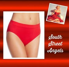 WACOAL 834175 ~  TANGO RED  ~  B-Smooth HI-CUT Brief Panties ~ XXL / 9