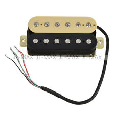 2PCS Humbucker Pickups Double Coil for Bridge Neck HBC-IV+BK