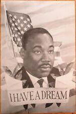 Mlk / Reverend Dr. Martin Luther King Jr. 1960s 6x9 Portrait / Giant Postcard