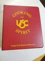 1984 Vintage USC Cook Book | Cooking With USC Spirit! Vintage! VERY Rare!