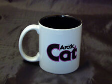 Reproduction Vintage Arctic Cat Pink Logo Coffee Mug