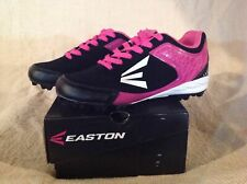 New in Box Easton 360 WOS Baseball Cleats Black/Pink #W15112