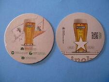 Beer Collectible Coaster: HEINEKEN Brewery Star Serve Technique; The Netherlands