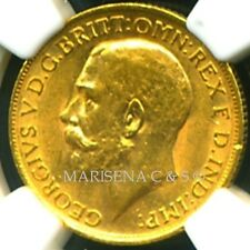 GR. BRITAIN GV 1913 GOLD COIN SOVEREIGN * NGC CERTIFIED GENUINE AU 58 * SUPERB