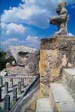 466087 Temple Of Warriors Chitzen Itza Mexico A4 Photo Print