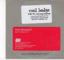 (DN834) Peter Broderick, Not At Home - 2009 DJ CD