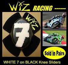 No. 7  DESIGN WIZ KNEE SLIDERS WHITE BLACK