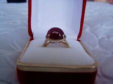 NIB FABULOUS RING W/ 10.70CTW GENUINE DIAMONDS & RUBY