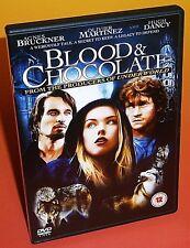 Blood And Chocolate (2007) DVD Agnes Bruckner, Olivier Martinez, Hugh Dancy