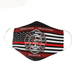 Firefighter Tradition Face Mask