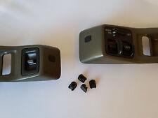 88-91 Honda CRX Power Window Bezel Screw Covers ~4 PACK~ trim caps cap panel jdm