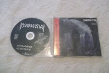 RESURRECTION Embalmed Existence CD ORG. 1993 1st Press Promo Version in Slimcase