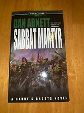 Sabbat Martyr (Gaunt's Ghosts) by Abnett, Dan Paperback Book The Fast