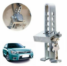 Car Brake Lever Throttle 8 Hole Lock Stainless Steel Clutch Anti-Theft Security