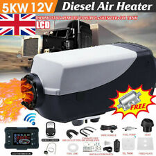 5kw Air Diesel Heater 12v for Car Truck Boat Motorhome LCD Remote Silencer