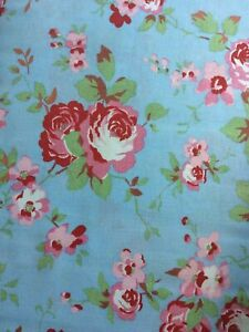 CATH KIDSTON Rosali Ikea Blue Poly/Cotton Fabric 150mm Wide Buy By the Metre