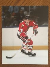 Denis Savard (Chicago Blackhawks) Unsigned 8x10 Photo