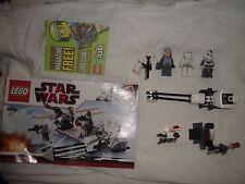 Lego Star Wars Set 8084 Snowtrooper Battle Pack loose but complete no box